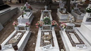 Migrant Cemetery Lesbos